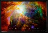 Imagination Nebula - Albert Einstein Quote Prints