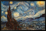 Starry Night, c. 1889 Posters by Vincent van Gogh
