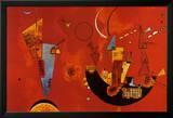 Mit Und Gegen Posters por Wassily Kandinsky