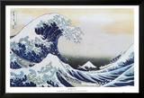 The Great Wave at Kanagawa , c.1829 Photo by Katsushika Hokusai
