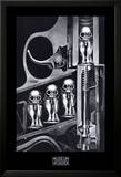 Machine à accoucher Posters par H. R. Giger