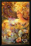 Crystal Of Enchantment Poster autor Josephine Wall