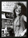 Janis Joplin Planning a Party Music Poster Print Print