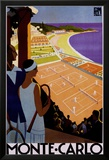 Monte Carlo Poster von Roger Broders