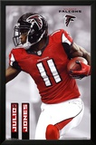 Julio Jones Atlanta Falcons NFL Sports Poster Kunstdrucke