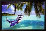 Tropischer Strand Kunstdruck