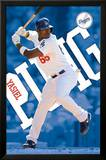 Yasiel Puig Los Angeles Dodgers MLB Sports Poster Posters