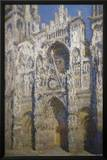 Claude Monet (Cathedral of Rouen) Art Poster Print Print