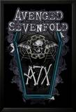 Avenged Sevenfold (Chain Coffin) Poster