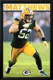 Clay Matthews Green Bay Packers Football Poster Poster
