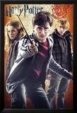 Harry Potter and the Deathly Hallows - Part II - Trio Plakat
