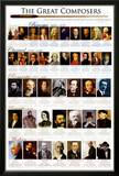 Classical Composers Posters