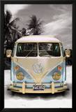 Volkswagen Camper w Kalifornii Reprodukcje