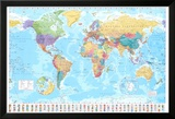 Carte du monde Affiches