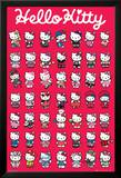 Hello Kitty-Compilation Poster
