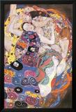 Jungfrau Poster von Gustav Klimt