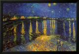 Starry Night Over the Rhone, c. 1888 Kunstdrucke von Vincent van Gogh
