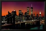 New York, New York – Brooklyn-Brücke Poster
