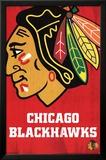 Chicago Blackhawks Logo Kunstdrucke