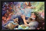 Enchanted Flute Kunstdrucke von Josephine Wall