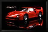 Ferrari F40 Plakat