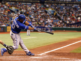 Aug 18, 2013, Toronto Blue Jays vs Tampa Bay Rays - Edwin Encarnacion Photographic Print by Charles Sonnenblick