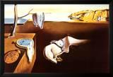 Hukommelsens utholdenhet Posters av Salvador Dalí