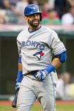 Jul 10, 2013, Toronto Blue Jays vs Cleveland Indians - Jose Bautista Photographic Print by Jason Miller
