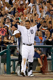 Aug 17, 2013, Kansas City Royals vs Detroit Tigers - Miguel Cabrera Photographic Print by Gregory Shamus
