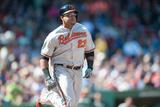 Apr 19, 2014, Baltimore Orioles vs Boston Red Sox - Nelson Cruz Photographic Print by Rob Tringali