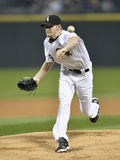 Sep 27, 2013, Kansas City Royals vs Chicago White Sox - Chris Sale Photographic Print by Brian Kersey