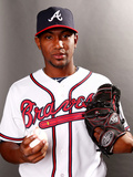 Atlanta Braves Photo Day: Feb 24, 2014 - Julio Teheran Photographic Print