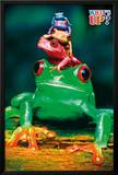 What's Up - Five Colorful Tree Frogs Poster Posters