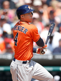 May 8, 2014, Houston Astros vs Detroit Tigers - George Springer Photographic Print by Gregory Shamus