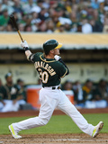 Jun 20, 2014, Boston Red Sox vs Oakland Athletics - Josh Donaldson Photographic Print by Thearon W. Henderson