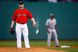 May 16, 2014, Detroit Tigers vs Boston Red Sox - Jon Lester Photographic Print by Jared Wickerham