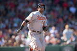 Apr 19, 2014, Baltimore Orioles vs Boston Red Sox - Nelson Cruz Photographic Print by Rob Tringali