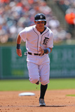 Jun 15, 2014, Minnesota Twins vs Detroit Tigers - Ian Kinsler Photographic Print by Leon Halip