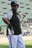 Apr 29, 2014, Detroit Tigers vs Chicago White Sox - Jose Abreu Photographic Print by David Banks