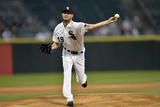 May 27, 2014, Cleveland Indians vs Chicago White Sox - Chris Sale Photographic Print by Brian Kersey