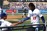 May 31, 2014, Pittsburgh Pirates vs Los Angeles Dodgers - Hanley Ramirez Photographic Print by Stephen Dunn