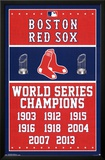 Boston Red Sox World Series Champions Print