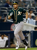 Jun 3, 2014, Oakland Athletics vs New York Yankees - Brandon Moss Photographic Print