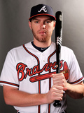 Atlanta Braves Photo Day: Feb 24, 2014 - Freddie Freeman Photographic Print