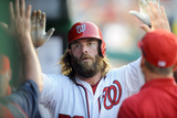 Jun 18, 2014, Houston Astros vs Washington Nationals - Jayson Werth Photographic Print by Mitchell Layton