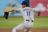 Jun 17, 2014, Texas Rangers vs Oakland Athletics - Yu Darvish Photographic Print by Thearon W. Henderson