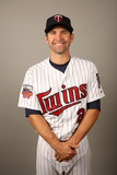 2014 Minnesota Twins Photo Day: Feb 25 - Brian Dozier Photographic Print by Robbie Rogers