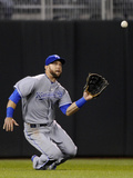 Apr 11, 2014, Kansas City Royals vs Minnesota Twins - Alex Gordon Photographic Print by Hannah Foslien