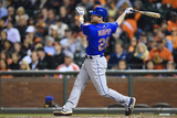 Jun 6, 2014, New York Mets vs San Francisco Giants - Daniel Murphy Photographic Print by Thearon W. Henderson