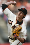 May 17, 2014, Miami Marlins vs San Francisco Giants - Tim Lincecum Photographic Print by Thearon W. Henderson